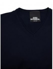 Blue Goes Botanical Sweater V Neckline price