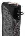 Gaiede portafogli in cuoio nero decorato in argento ATCW001 BLACKxSILVER acquista online