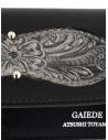 Gaiede bustina portafoglio cuoio nero e argento ATCW005 BLACKxSILVER acquista online