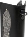 Gaiede bustina portafoglio cuoio nero e argento prezzo ATCW005 BLACKxSILVERshop online