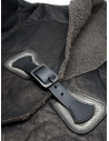 Gaiede shawl in deer leather ATCC002 BLACKxSILVER buy online