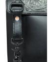 Gaiede borsa in pelle con patta decorata in argento ATCB002 BLACKxSILVER acquista online