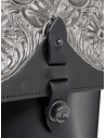 Gaiede borsa in pelle con patta decorata in argento prezzo ATCB002 BLACKxSILVERshop online