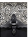 Gaiede leather bag with flap decorated in silver price ATCB002 BLACKxSILVER shop online
