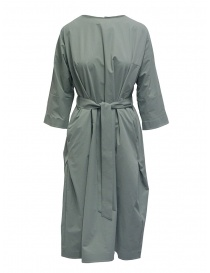 Plantation sage green long dress with belt online