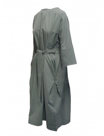 Plantation sage green long dress with belt