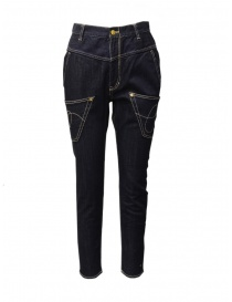 Womens jeans online: Mercibeaucoup, regular jeans with inverted pockets