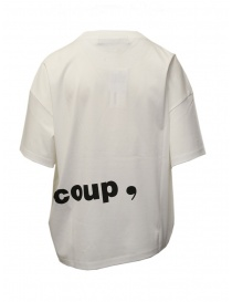 White T-shirt with Mercibeaucoup, writing