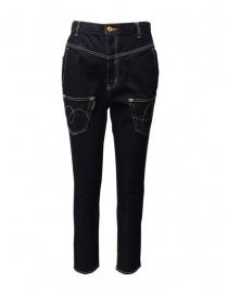 Jeans donna online: Mercibeaucoup, jeans a cavallo basso e tasche invertite