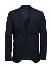 Selected Homme navy blazer online