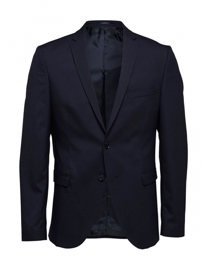 Selected Homme navy blazer 16051230 NAVY mens suit jackets online shopping