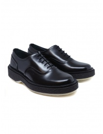Womens shoes online: Adieu Type 137 black leather women's Oxford shoes