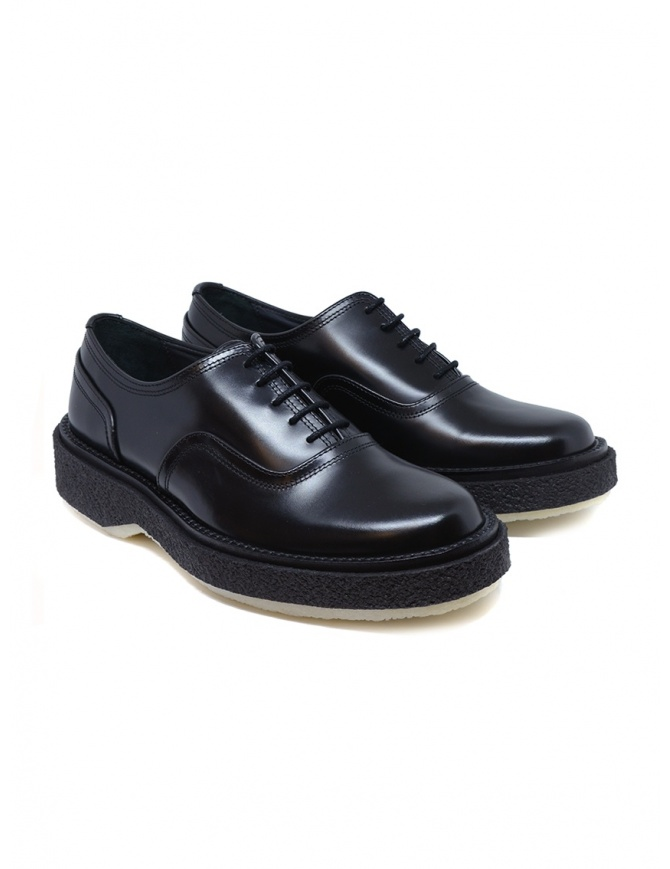 Adieu Type 137 black leather women's Oxford shoes TYPE 137 BLK womens shoes online shopping