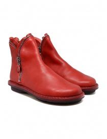 Calzature donna online: Stivaletto Trippen Diesel rosso
