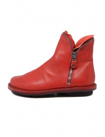Trippen Diesel red ankle boot