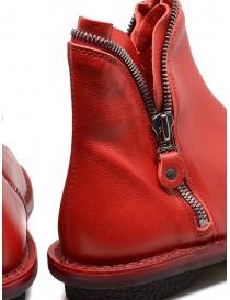Stivaletto Trippen Diesel rosso calzature donna prezzo