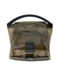 Zucca grey transparent bag ZU07AG174-24 GRAY order online