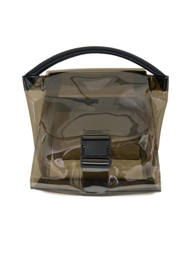Borsa trasparente Zucca colore grigio ZU07AG174-24 GRAY borse online shopping