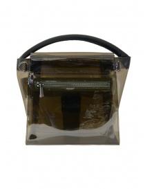 Zucca grey transparent bag price