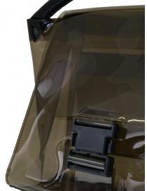 Borsa trasparente Zucca colore grigio borse acquista online