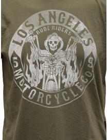 Rude Riders t-shirt Los Angeles Motorcycle verde prezzo