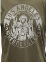 Rude Riders t-shirt Los Angeles Motorcycle verde R04002 86618 TSHIRT GREEN prezzo
