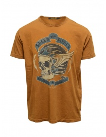 T shirt uomo online: Rude Riders t-shirt Speed and Power color tabacco