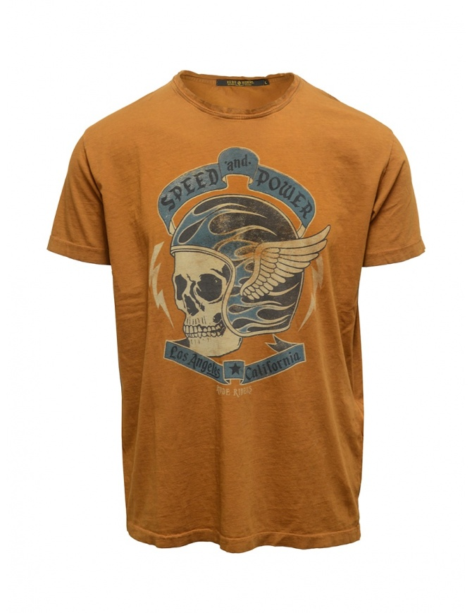 Rude Riders Speed and Power t-shirt tobacco in color R04006 86214 TSHIRT TABACCO mens t shirts online shopping