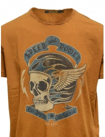 Rude Riders Speed and Power t-shirt tobacco in color price