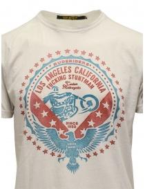 Rude Riders t-shirt Fucking Stuntman bianca prezzo