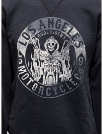 Rude Riders blue Los Angeles Motorcycle sweatshirt price