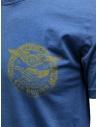 Rude Riders blue t-shirt with yellow print R04010 86516 TSHIRT ROYAL price