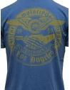 Rude Riders blue t-shirt with yellow print R04010 86516 TSHIRT ROYAL buy online