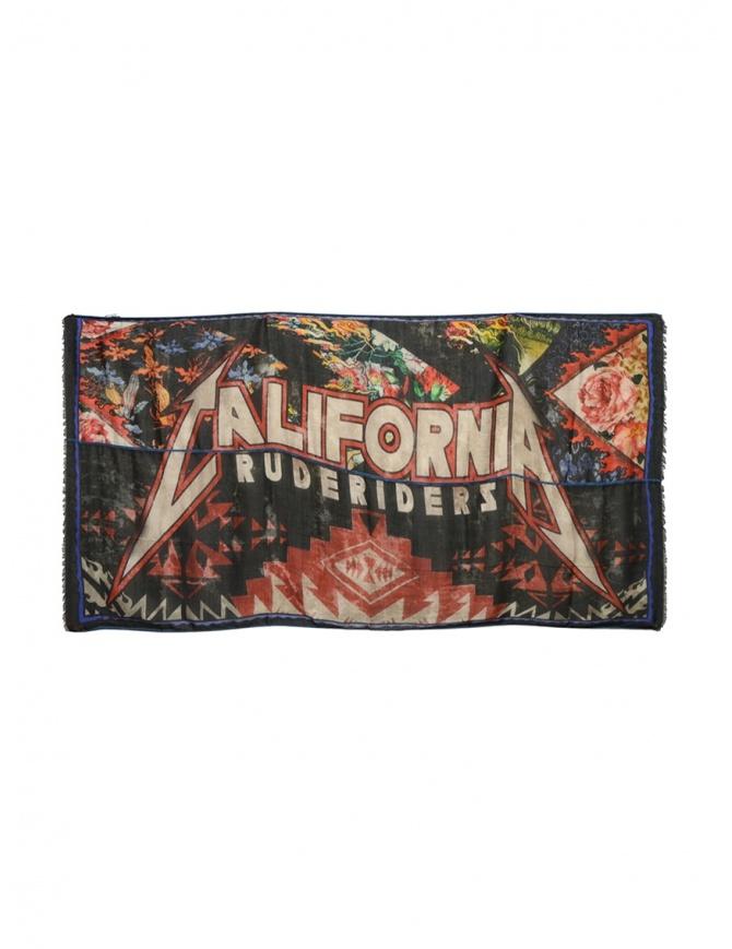 Rude Riders sciarpa colorata California R04822 73999 SCARF sciarpe online shopping
