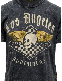 Rude Riders gray t-shirt with Speed Shop print price