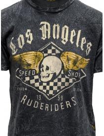 Rude Riders t-shirt grigia con stampa Speed Shop prezzo