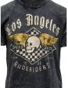Rude Riders t-shirt grigia con stampa Speed Shop R04012 10009 TSHIRT BLACK prezzo
