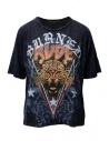 Rude Riders Burned Rude blue t-shirt buy online R04522 86516 TSHIRT ROYAL