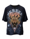 Rude Riders t-shirt Burned Rude blu acquista online R04522 86516 TSHIRT ROYAL