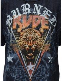 Rude Riders Burned Rude blue t-shirt price