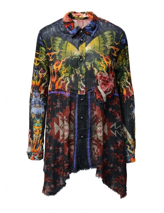 "Rude Riders camicia fantasia ""California"" R04584 73999 SHIRT camicie donna online shopping"