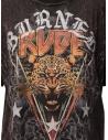 Rude Riders Burned Rude burgundy t-shirt R04522 86634 BURNED price