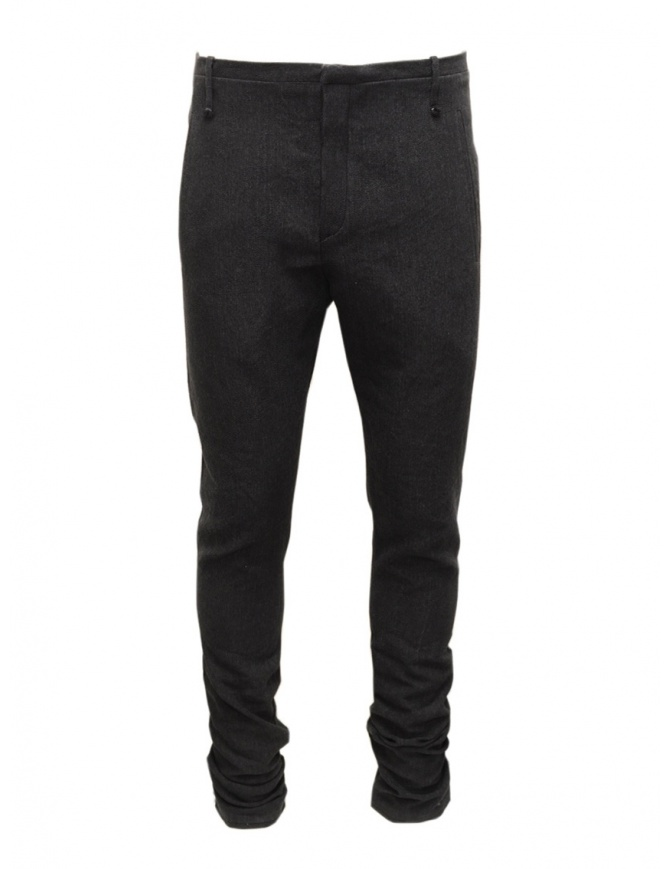 Pantaloni Label Under Construction grigi da uomo 34FMPN108 LW11A 34/9 pantaloni uomo online shopping