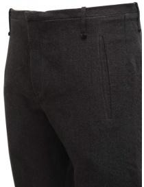 Pantaloni Label Under Construction grigi da uomo pantaloni uomo prezzo