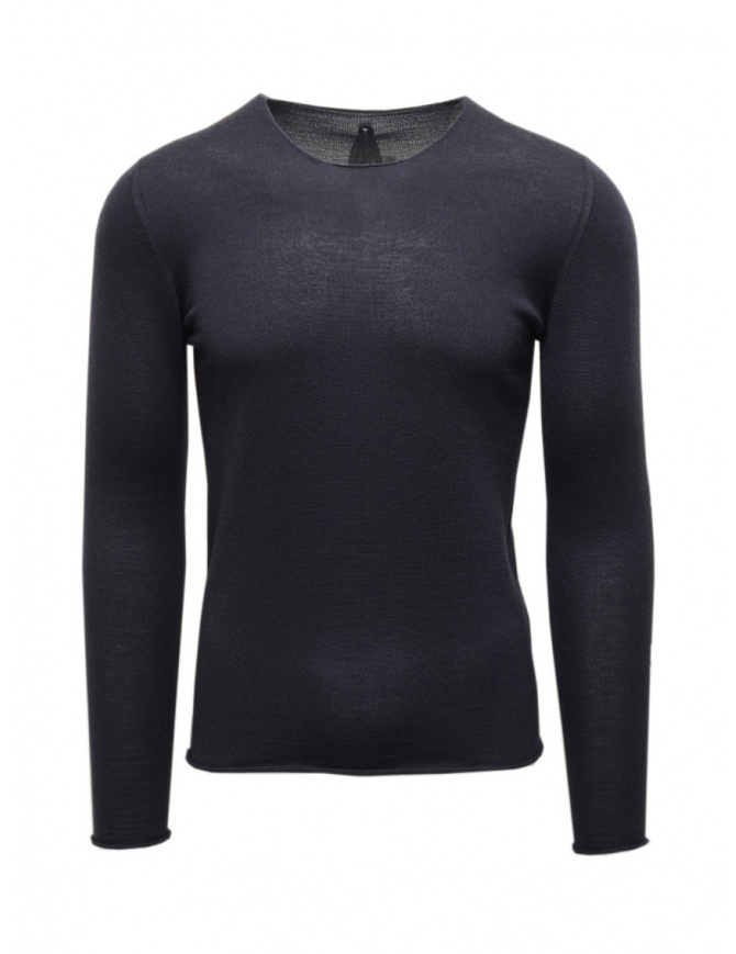 Label Under Construction blue pullover sweater in cashmere and silk 22YMTS203 WS23 RG 22/7 mens knitwear online shopping