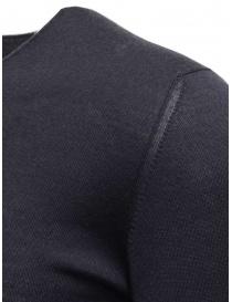 Label Under Construction pullover in cashmere e seta blu prezzo