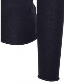 Label Under Construction blue pullover sweater in cashmere and silk mens knitwear buy online