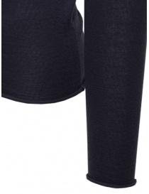 Label Under Construction pullover in cashmere e seta blu maglieria uomo acquista online