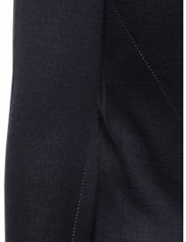 Label Under Construction pullover in cashmere e seta blu maglieria uomo prezzo