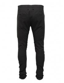 Label Under Construction pantaloni neri in cotone prezzo